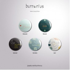 button'us Raya Edition - Selamat Hari Raya / Eid Mubarak Button Badge
