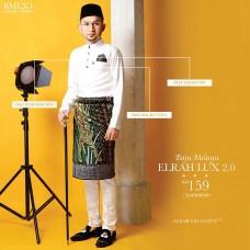 KLasia Baju Melayu Lux 2.0 Elrah Exclusive