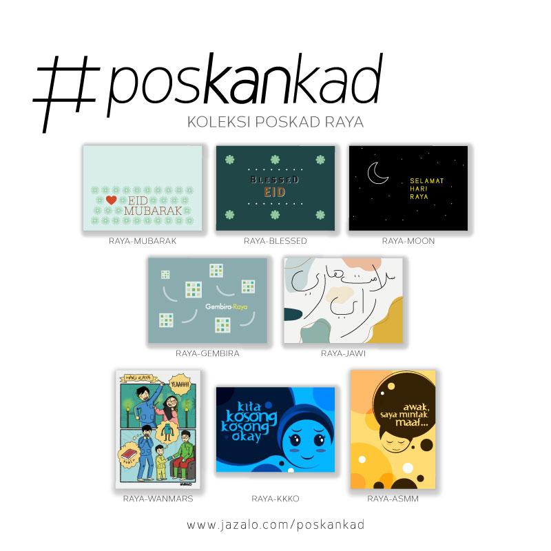 poskankad Postcard - Poskad Raya