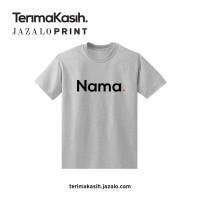 Baju Nama. T-shirt